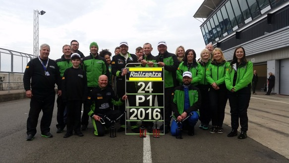 Rollcentre Racing winners 2016 hankook 24h Silverstone
