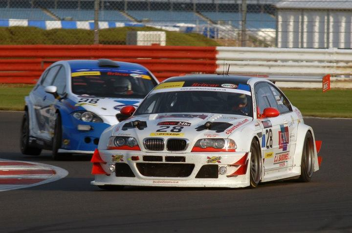 Richard Abra BMW E46 GTR Britcar 24hr winner