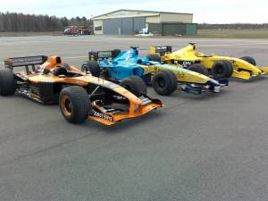 Arrows renault & Jordan F1 cars
